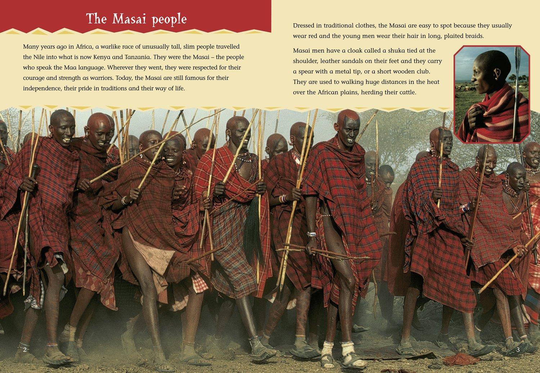 amazon com the masai tribe of warriors collins big cat bk 23
