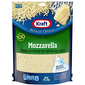 Kraft 100 Years Of Quality Mozzarella Cheese