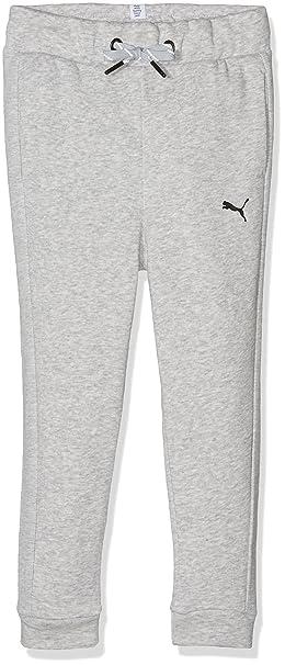 c052168cf837b Puma Pantalon de Sport Style Sweat Pants G pour Enfant 8-9 Ans Gris Clair