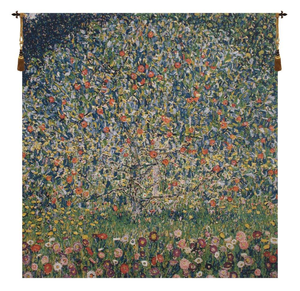 Apple Tree- Klimt Belgian Wall Art Tapestry