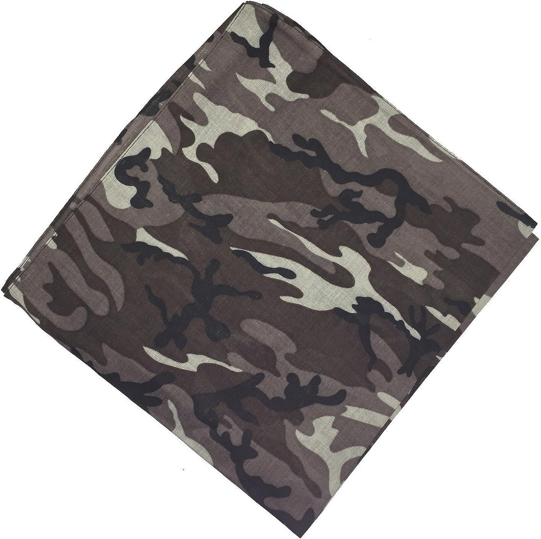 National Cotton Paisley Bandana Double Side Head Wrap Scarf Wristband Neckerchief by