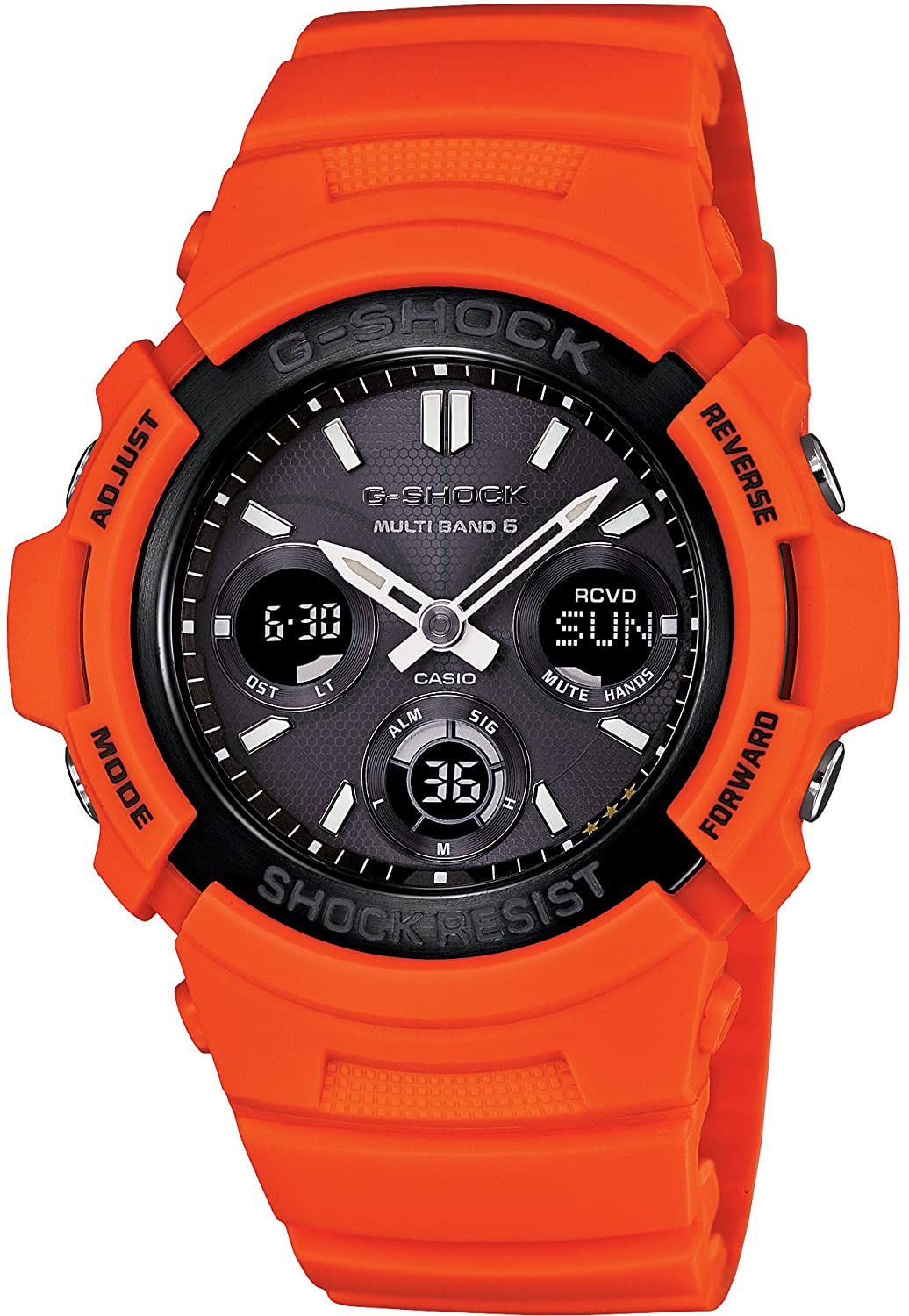 CASIO G-SHOCK Rescue Orange Series AWG-M100MR-4AJF japan import