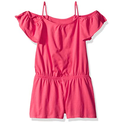 eb5599b12085 The Children s Place Big Girls  Everyday Cold Shoulder Romper