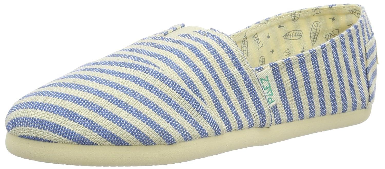 Paez Original Eva Surfy Argentina, Espadrillas Basse Unisex-Adulto Multicolore (White, Blue 0065)