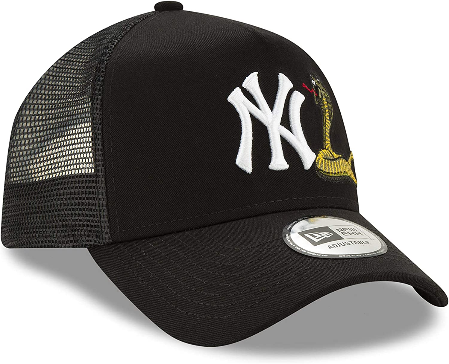 New Era Gorra Trucker MLB Twine York Yankees Verde Oliva-Negro ...