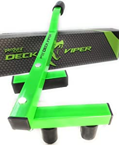 Deck Bending Tool - Perdura Deck Viper Board Straightening Wrench for Hardwood Softwood PT Cedar Composite PVC Decking - Quality Steel Construction for Fast Bow Removal.