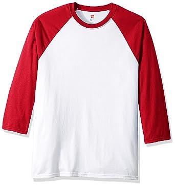 265a479dca6 Amazon.com  Hanes Men's X-Temp Raglan Baseball Tee  Clothing