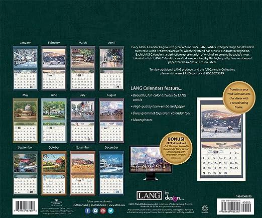 amazon com the lang companies american dream 2019 wall calendar