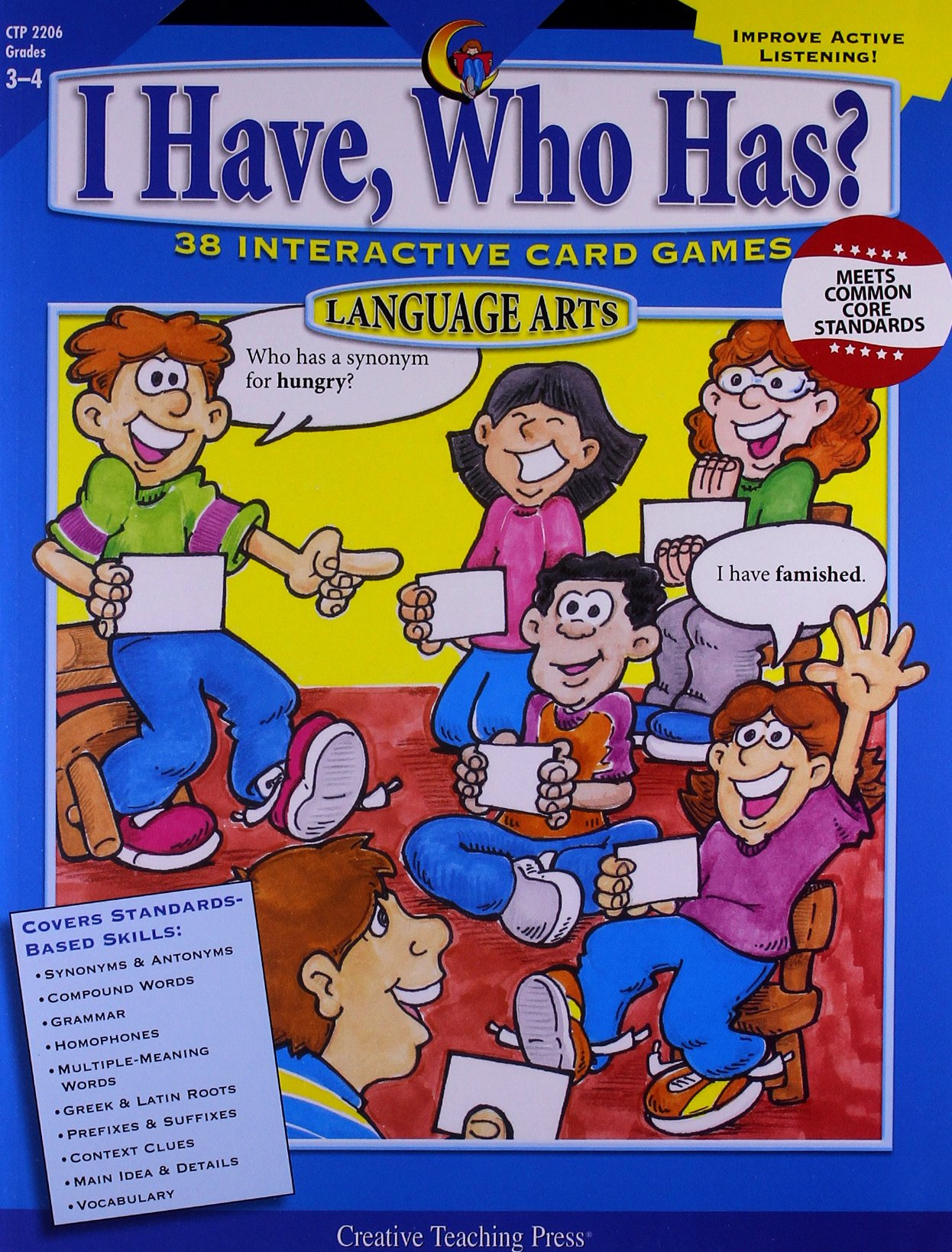 I Have, Who Has? Gr. 3-4 Language Arts PDF