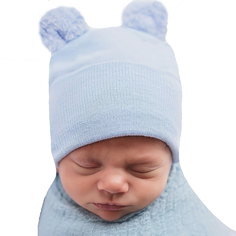 Melondipity HAT ベビーボーイズ US サイズ: Newborn カラー: ブルー   B07BFDPC2N
