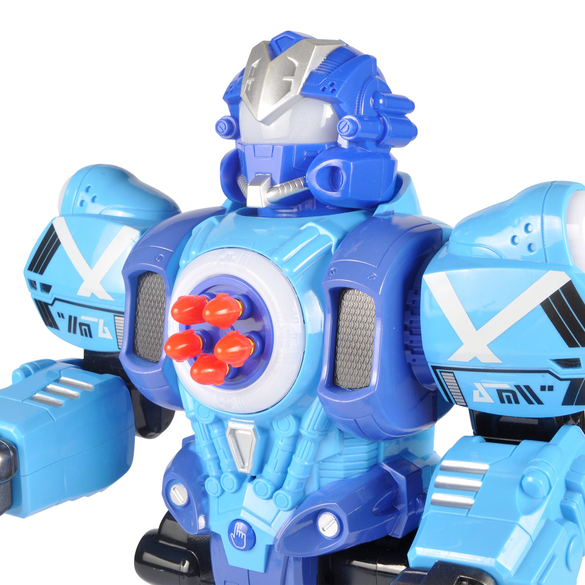 Liberty Imports Large Remote Control Robot Toy for Kids - RC Robot Shoots Darts, Walks, Talks, and Dances (10 Functions) by Liberty Imports (Image #3)