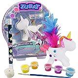 ZUBAT Unicorn Magical Appearing Flower Magic Wand, Easy Magic Tricks Toys for Kids, Magic Flower Pot Kit, DIY Paint…