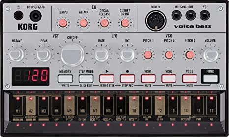 Korg Volca Bass - Sintetizador y caja de ritmos: Amazon.es ...