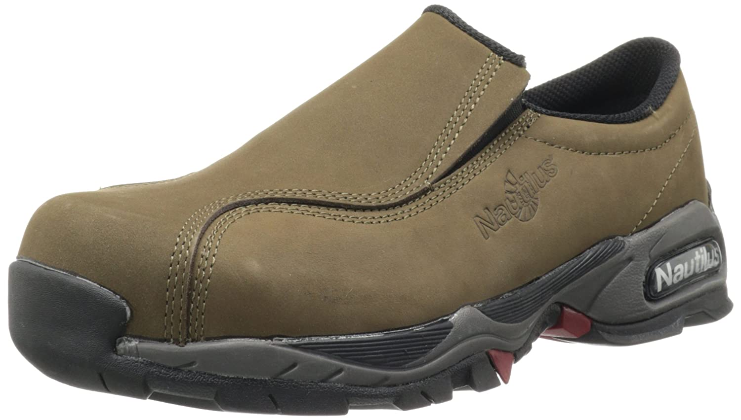 Nautilus Safety Footwear メンズ B000IX1NIC 15 D(M) US|グリーン グリーン 15 D(M) US