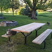 Amazon Com Jack Post Fc 30 Picnic Table Frame Garden