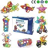 Condis Bloques de Construcción Magnéticos para niños, Juegos de Viaje Construcciones Magneticas imanes Regalos…