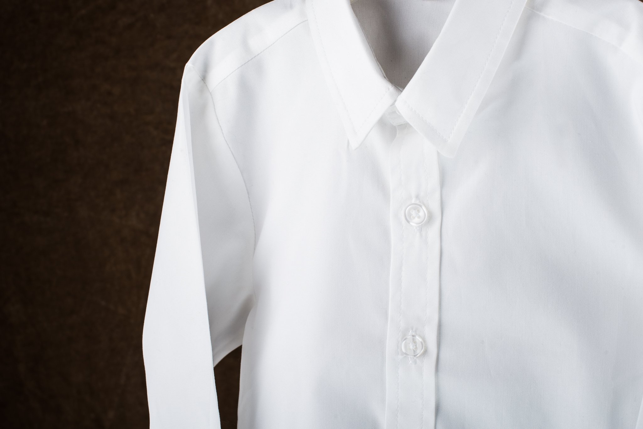 Born to Love - Wedding Baptism Birthday White Button-Up Shirt - Infant, Toddler & Boys 2T by Born to Love (Image #3)