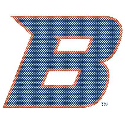 Amazoncom Ncaa Boise State Broncos 12 Tall Primary Logo