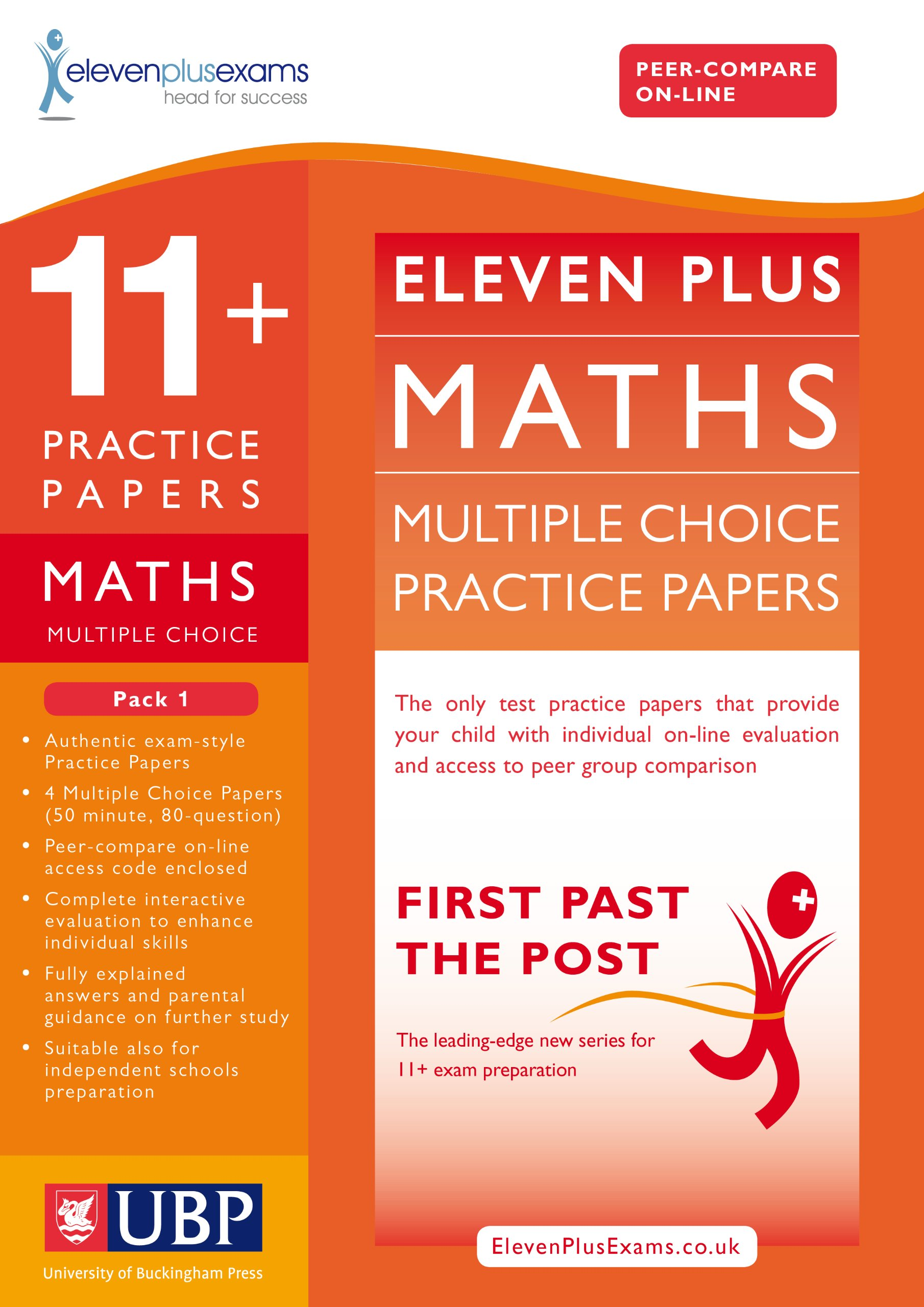 11 Maths Multiple Choice Practice Papers Pack 1 First