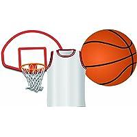 Eureka Basketball Paper Cut Outs
