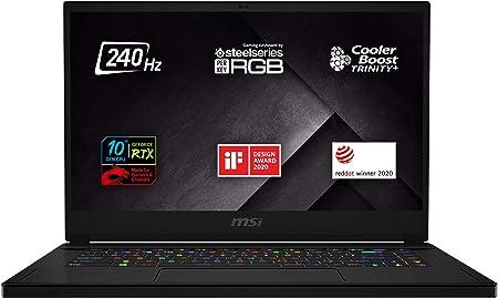 Gaming Laptop MSI mit 144 Hz 15 Zoll
