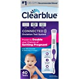 Clearblue Connected Ovulation Test System Featuring Bluetooth connectivity and Advanced Ovulation Tests with Digital Results,