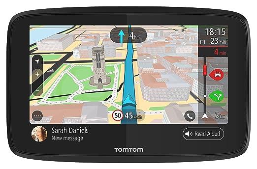 TomTom GO 620 Pkw-Navi (6 Zoll mit Updates über Wi-Fi, Lebenslang Traffic via Smartphone, Weltkarten, Freisprechen, Smartphon