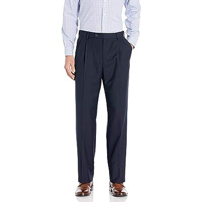 Palm Beach Men's Expander Pleat Dress Pant at Men's Clothing store