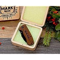Cuchillo de Bolsillo, Regalo personalizado de los Padrinos de Boda, Idea de Lujo del Regalo, Regalo de los Padrinos de Boda, Regalo de la Navidad, Regalo para El, Regalo de los Hombres, Regalo del Aniversario