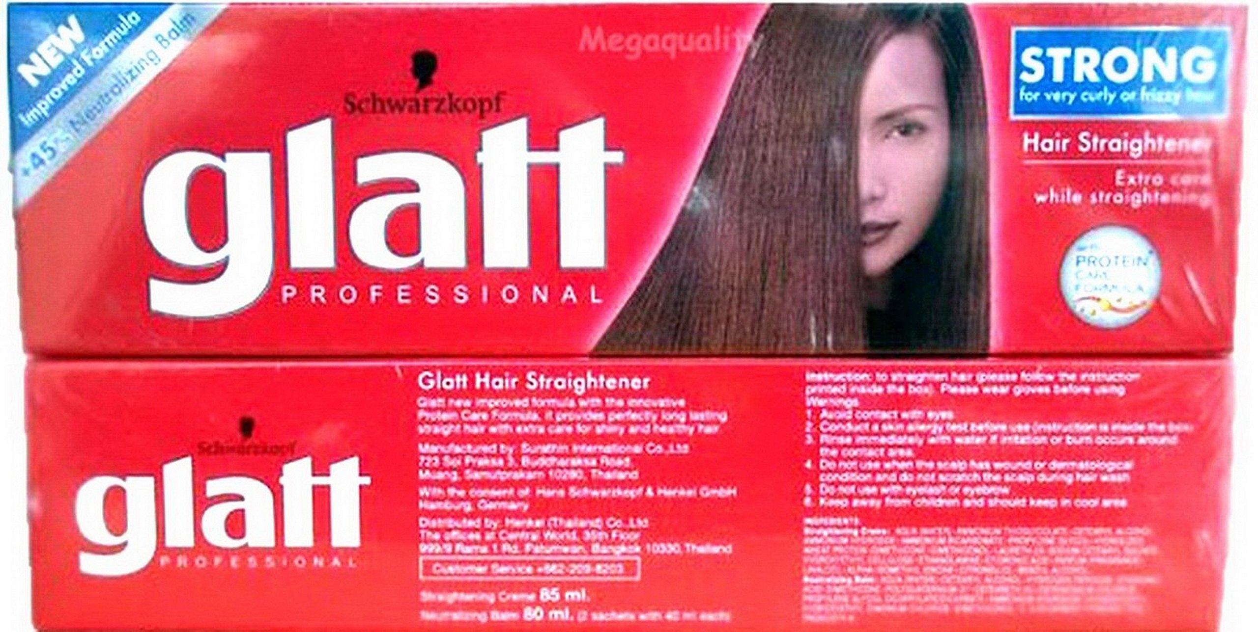 Schwarzkopf Glatt Professional Hair Straightener Strong 85ml