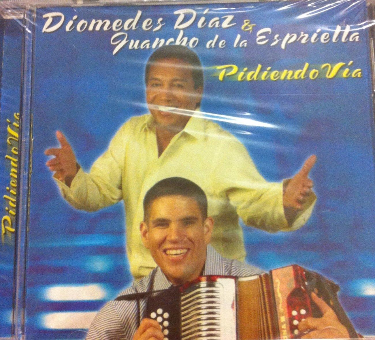 CD VALLENATO DIOMEDES DIAZ & GUANCHO DE LA ESPRIELLA PIDIENDO VIA by