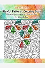 Playful Patterns Coloring Book: 30 Original, Repeating-Pattern Designs to Color