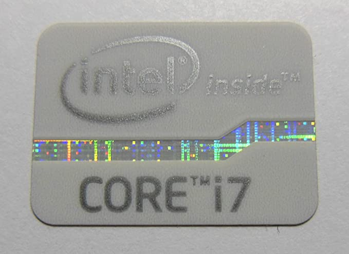 903 Intel Core i5 Inside metal Sticker 15.5 x 21mm