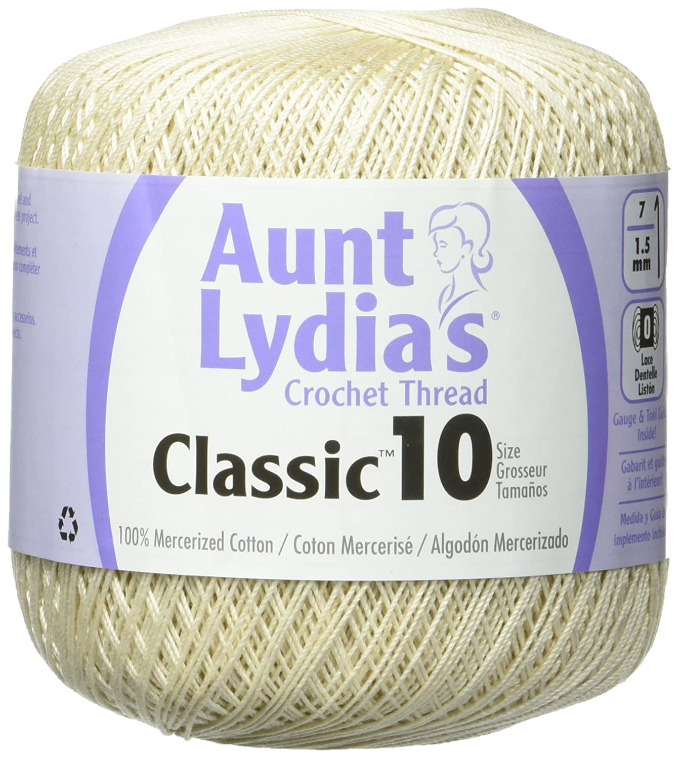Amazon.com: Coats Crochet Classic Crochet Thread 10 Forest Green: Arts, Crafts & Sewing