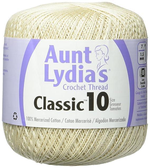 Amazon.com: Coats Crochet Classic Crochet Thread 10 Forest Green: Arts, Crafts & Sewing