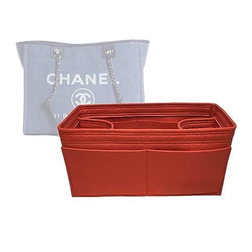 656239e8 Zoomoni Chanel Deauville Tote (Small) Purse Organizer Insert ...
