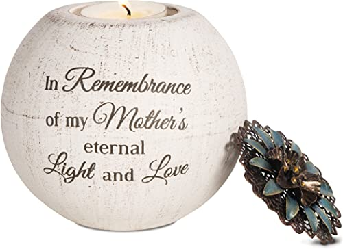 Pavilion Gift Company 19091 Mother's Love Terra Cotta Candle Holder