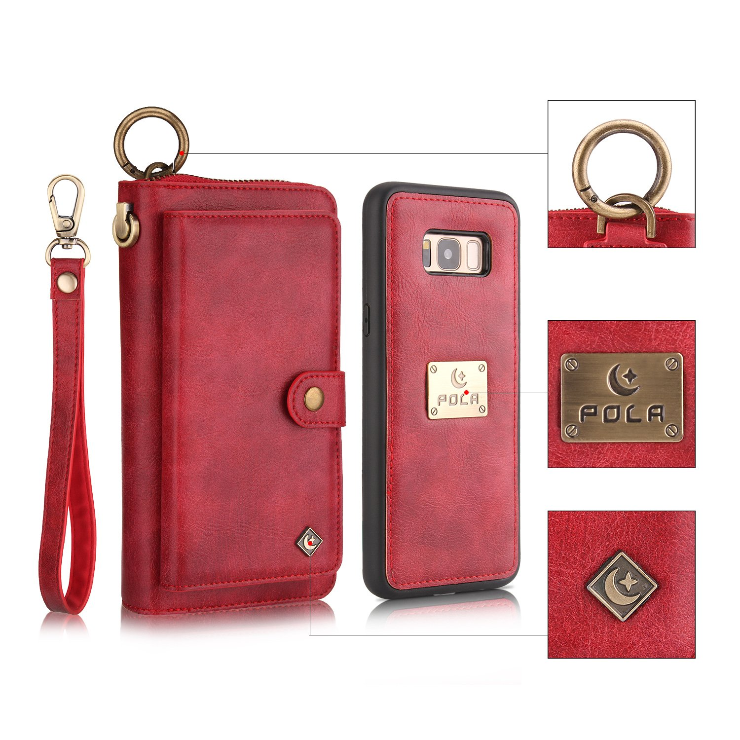 Phone Zipper Wallet PU...