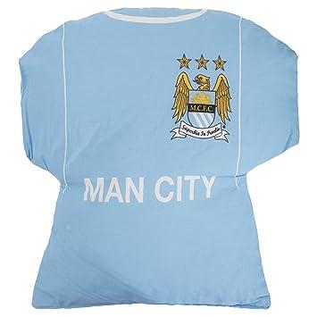 Manchester City FC Niños/Niños Oficial Camiseta De Fútbol Amortiguador - Azul Cielo, One Size: Amazon.es: Hogar