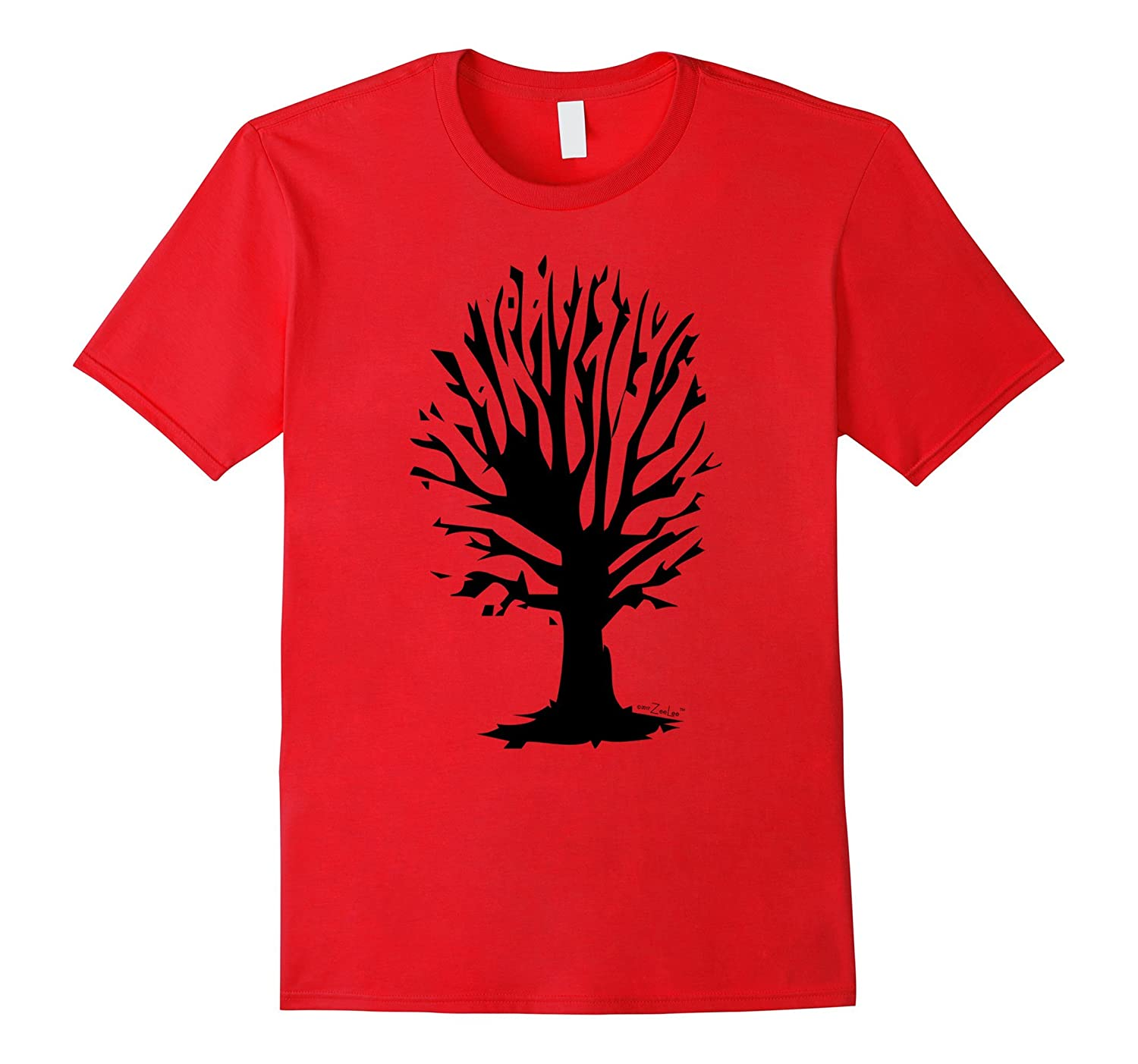 Tree T-shirt-Art