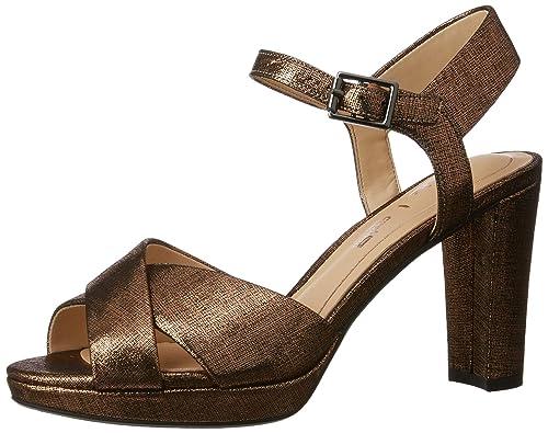 875ea41fe Clarks Women s Kendra Petal Copper Fashion Sandals - 5.5 UK India (39 EU)