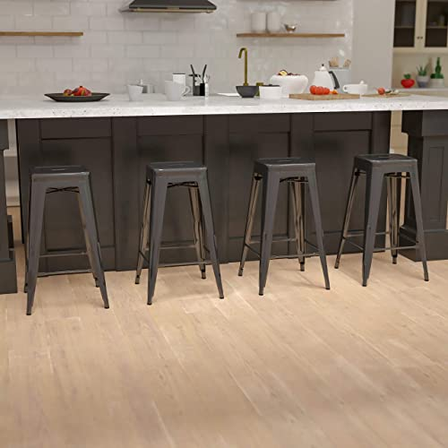 Flash Furniture 30″ High Metal Indoor Bar Stool