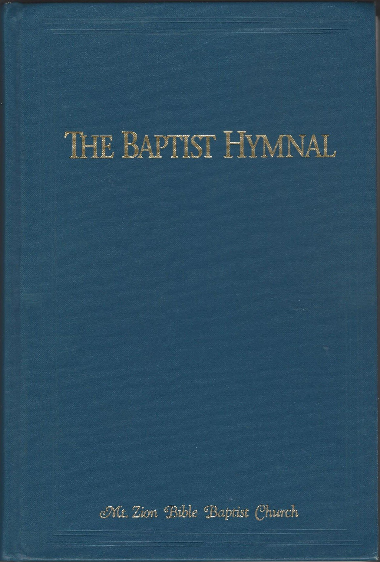 The Baptist Hymnal (Prussian Blue)