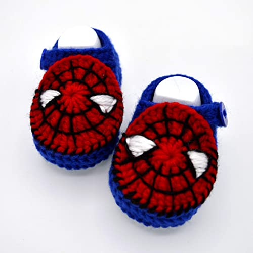 Amazon.com: Crochet Baby Boy Shoes 0-6