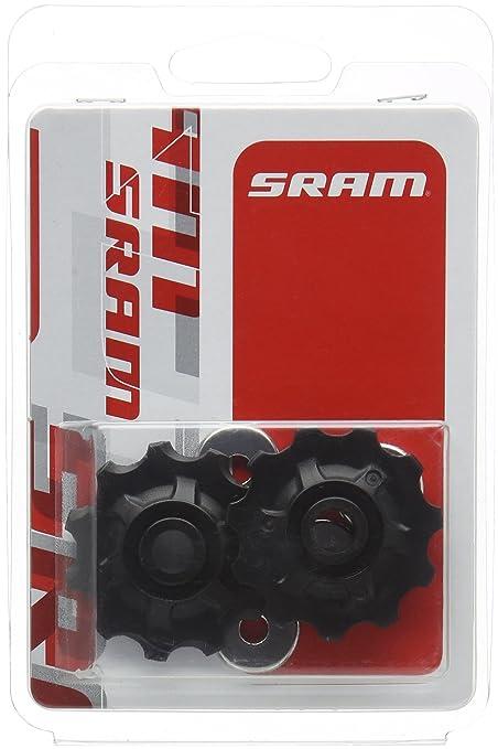 2 opinioni per Sram MTB- Coppia di pulegge per deragliatore posteriore, nero (nero), N/A