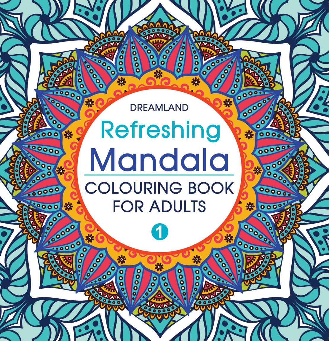 Refreshing Mandala - Coloring Book for Adults Online