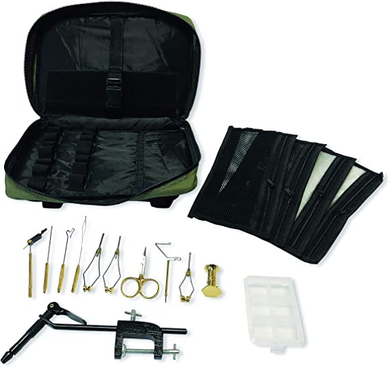 Colorado Angler Supply Zephyr Fly Tying Bag Kit w/Super AA Vise