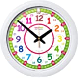 EasyRead time teacher ERTT-DIG Wanduhr, Regenbogenfarben 12-24 Stunden