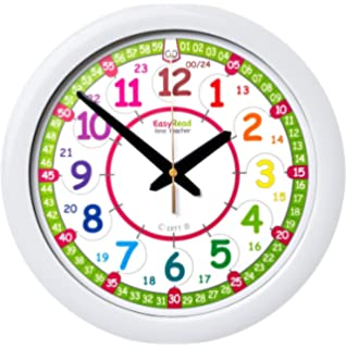 Reloj infantil de pared EasyRead Time Teacher, que indica la hora (digital) en