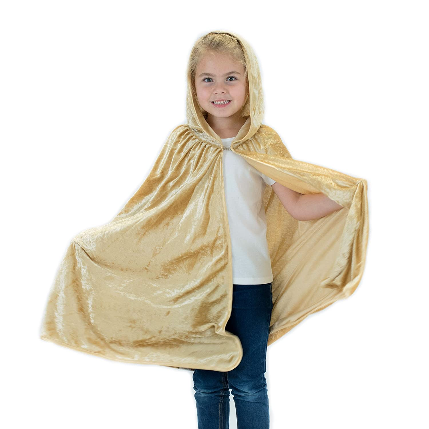 Hooded Cape For Kids | Children's Cloak With Hood For Halloween, Costumes, Red Riding Hood, Harry Potter, Cosplay And More 120817